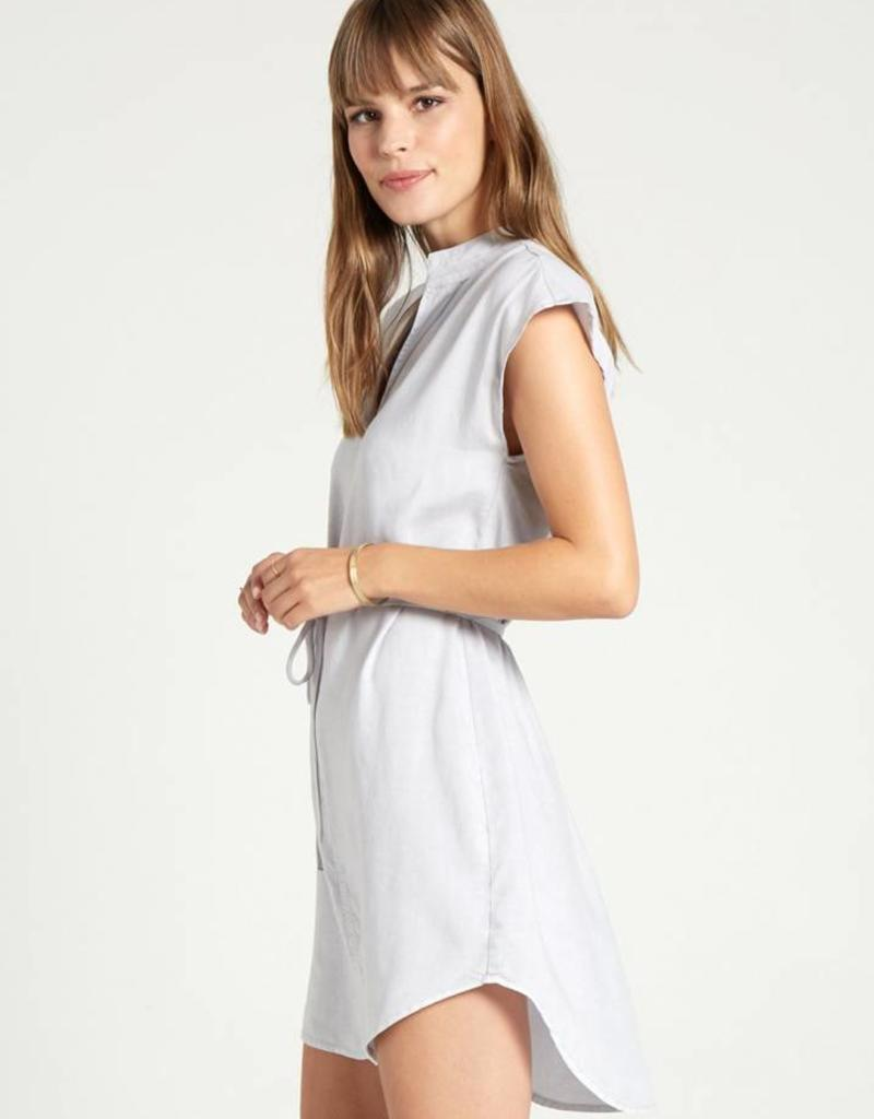 Bella Dahl Cap Sleeve Belted Dress