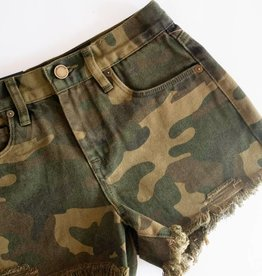 Blank NYC Cutoff Shorts - Army of One