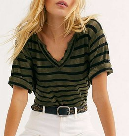 Free People We The Free Head In The Clouds Stripe Top