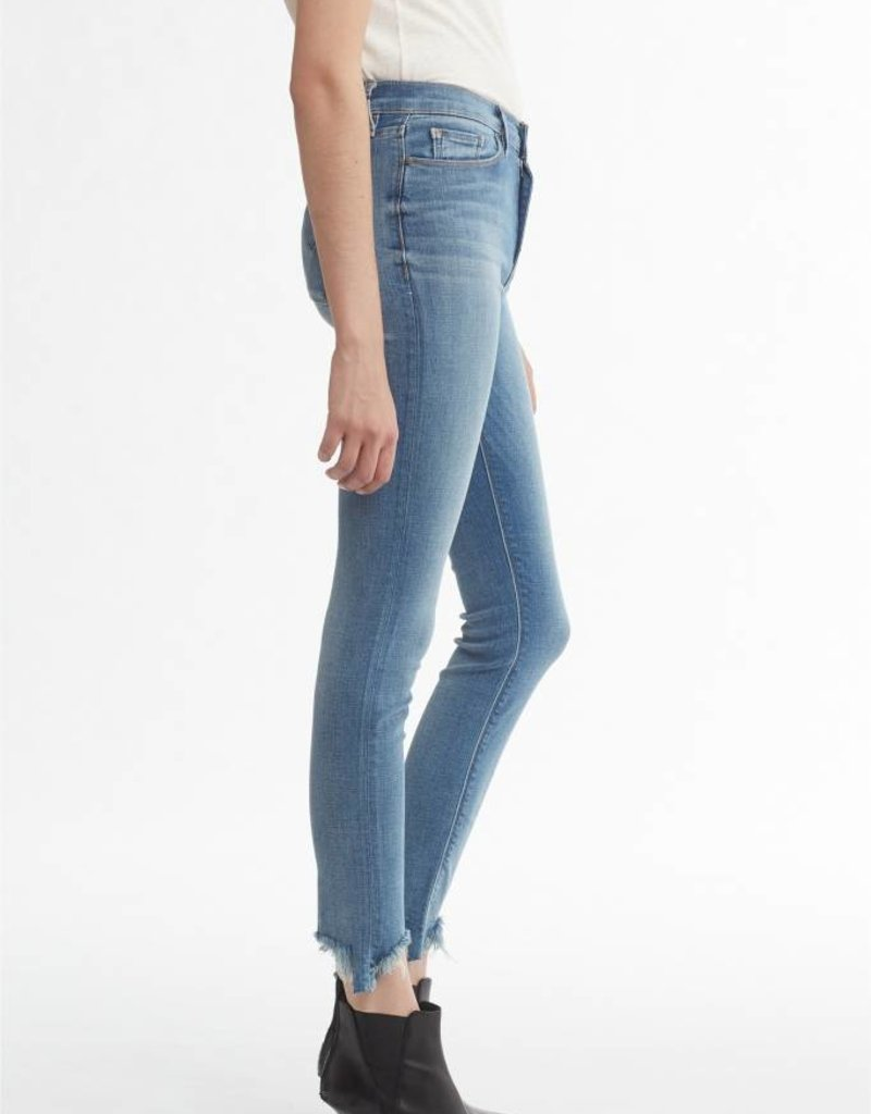 Hudson Barbara High Rise Super Skinny Ankle Jean Beach Side