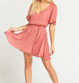 Show Me Your Mumu Anastasia Dress ~ Sangria Silky Dots