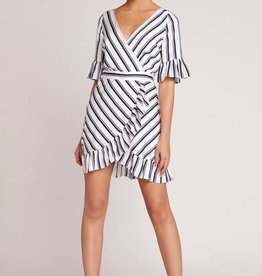 BB Dakota Visual Pursuit Stripe Dress