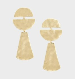 Gorjana Luca Half Circle Earrings