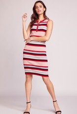 BB Dakota Worth The Stripe Sweater Dress