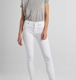 Hudson Barbara High Rise Super Skinny Jean - White