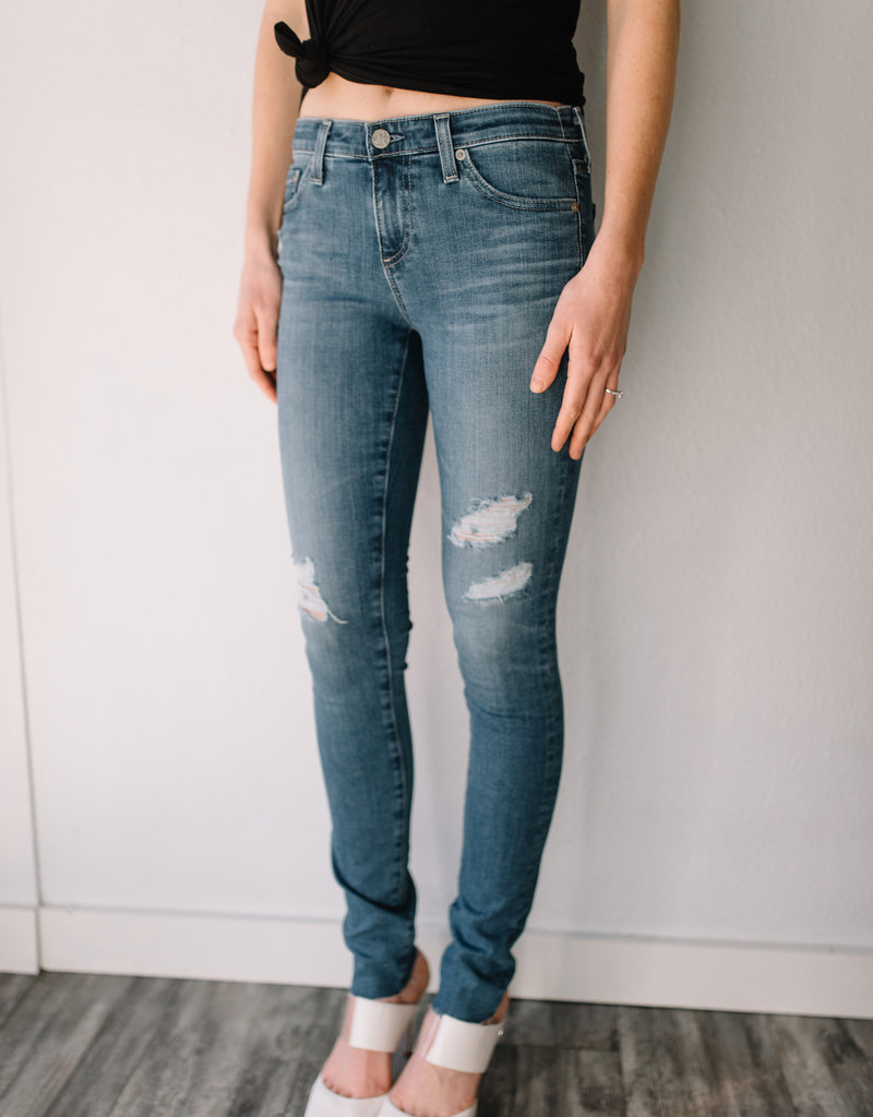 AG Jeans The Legging Ankle - 15-Year Affinity Destructed
