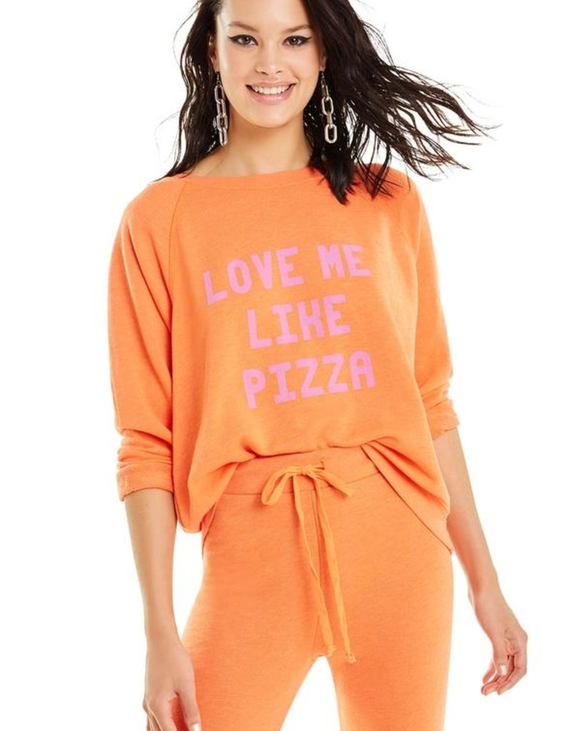 Wildfox Love Me Like Pizza Sommers Sweater