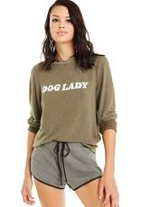 Wildfox Dog Lady Baggy Beach Jumper