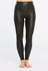 Spanx Faux Leather Moto Leggings