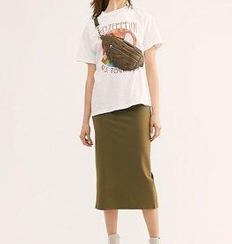 Free People Highlands Tube Midi Skirt