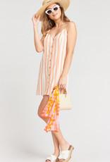 Show Me Your Mumu Remington Dress ~ Dreamsicle Stripe Linen