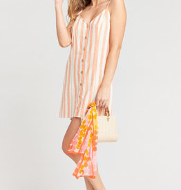 Show Me Your Mumu Remington Dress ~ Dreamsicle Stripe Linen