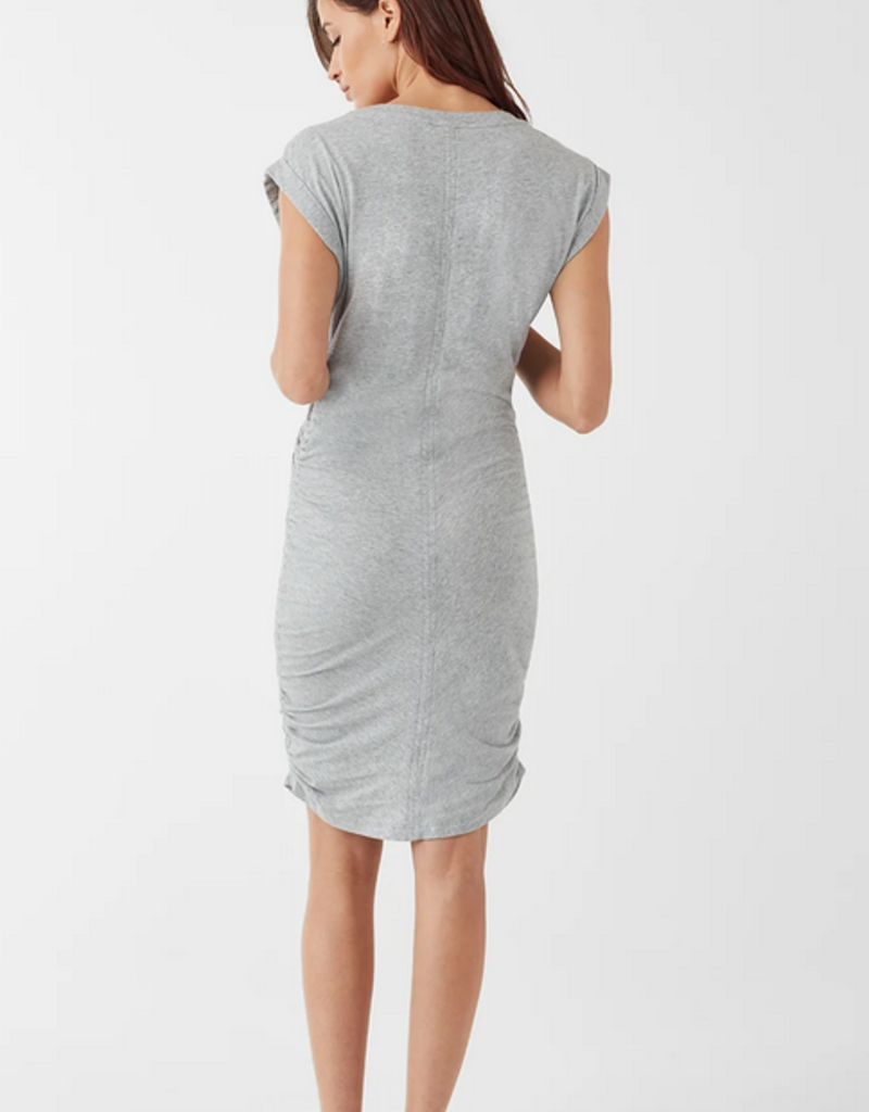 Splendid Casing Details Ruched Dress