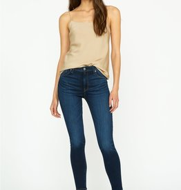 Hudson Barbara High Rise Super Skinny Jean - Baltic
