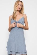 Rails August Dress - Indigo Pinstripe