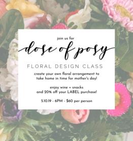 LABEL Floral Design Class