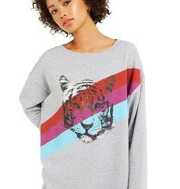 Wildfox Tiger Stripes Roadtrip Sweater