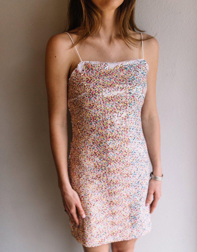 Endless Rose Confetti Sequin Dress