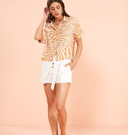 Minkpink Pretty Wild Cropped Blouse