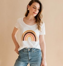 Polished Prints Rainbow Better Days Tee