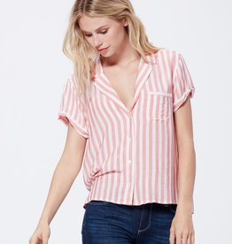 Paige Colwyn Shirt - Watermelon Cove Stripe