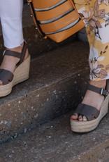 Sam Edelman Maura Leather Platform Espadrille Sandals