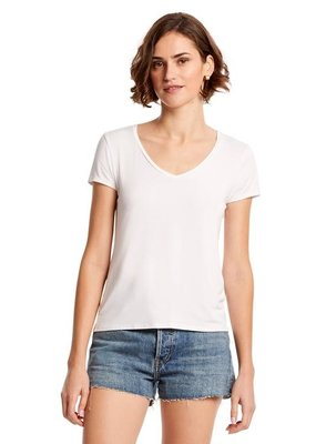 Michael Stars Ava Slim V-Neck Tee