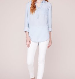 Jack by BB Dakota Wash My Worries Button Top