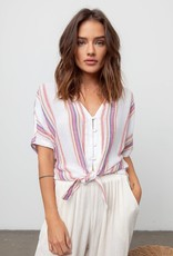 Rails Thea Top - Jewel Stripe