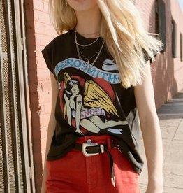 Daydreamer Aerosmith Pin Up Drop Shoulder Tee