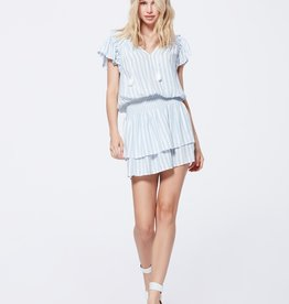 Paige Cristina Dress - Ice Blue Cove Stripe