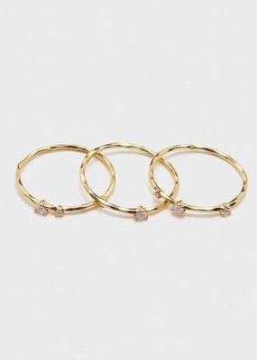 Gorjana Cleo Ring Set