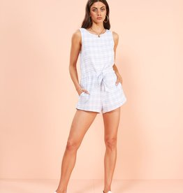 Minkpink Supreme Check Playsuit