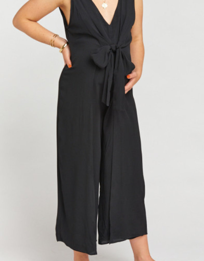 Show Me Your Mumu Paris Jumpsuit ~ Black
