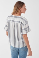 Splendid Dume Stripe Popover Shirt