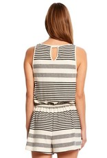 Michael Stars Kylie Striped Romper