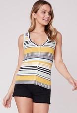 BB Dakota Knit's So You Stripe Tank