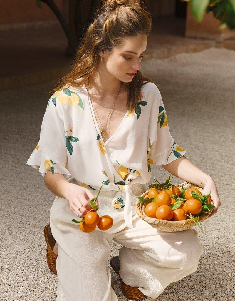 Rails Athena Top - Lemon Grove