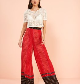 Minkpink Hail Sunrise Wide Leg Pants