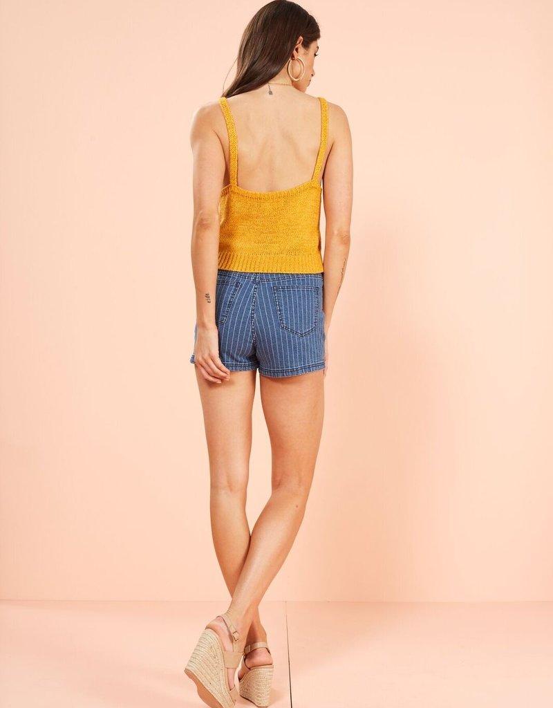 Minkpink Morning Light Knit Cami