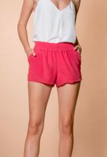 Lavender Brown Rose Petal Shorts