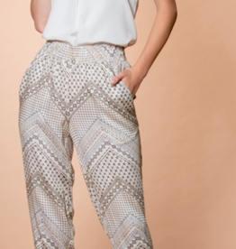 Lavender Brown The Chloe Print Pant