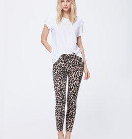 Paige Hoxton Ankle Raw Hem - Pink Leopard