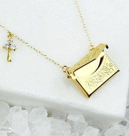 Rory Ashton Love Letters Necklace