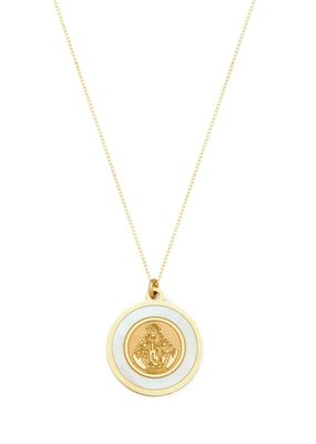 Joy Dravecky The Blanc Circle Pendant