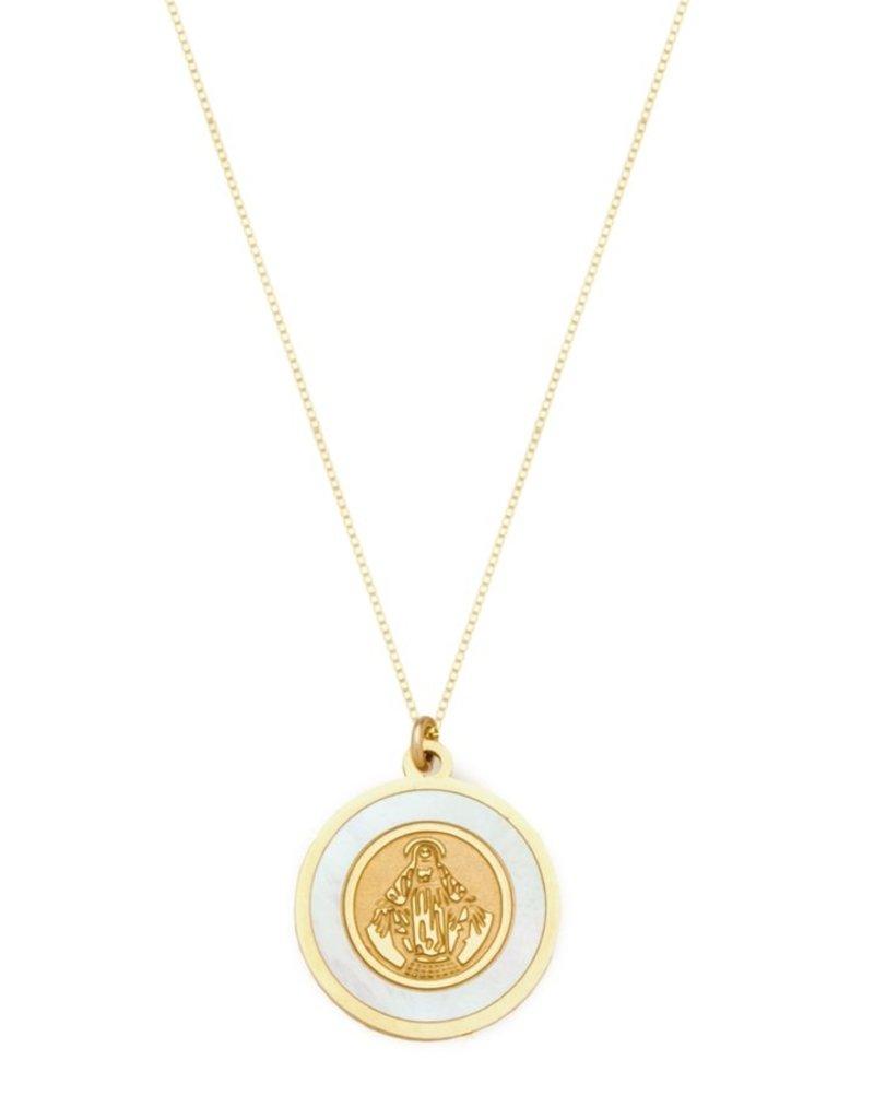 Joy Dravecky The Blanc Circle Pendant