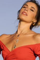 Joy Dravecky The Antiquity Cross Necklace