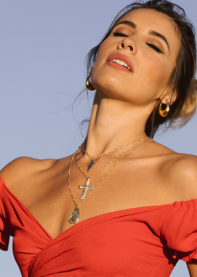 Joy Dravecky The Antiquity Cross Necklace