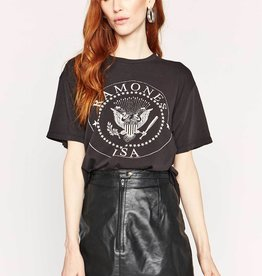 Daydreamer Ramones USA Crest Weekend Tee