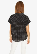 Sanctuary Borrego Tie Shirt Black
